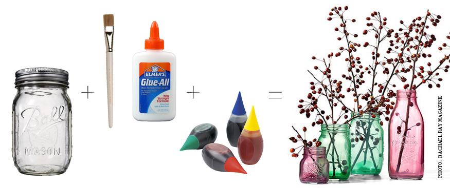 Color Wash Jars