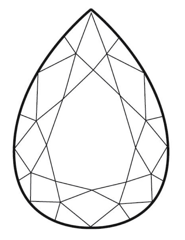 Line Drawing Jewel : Gem template « p s i made this…