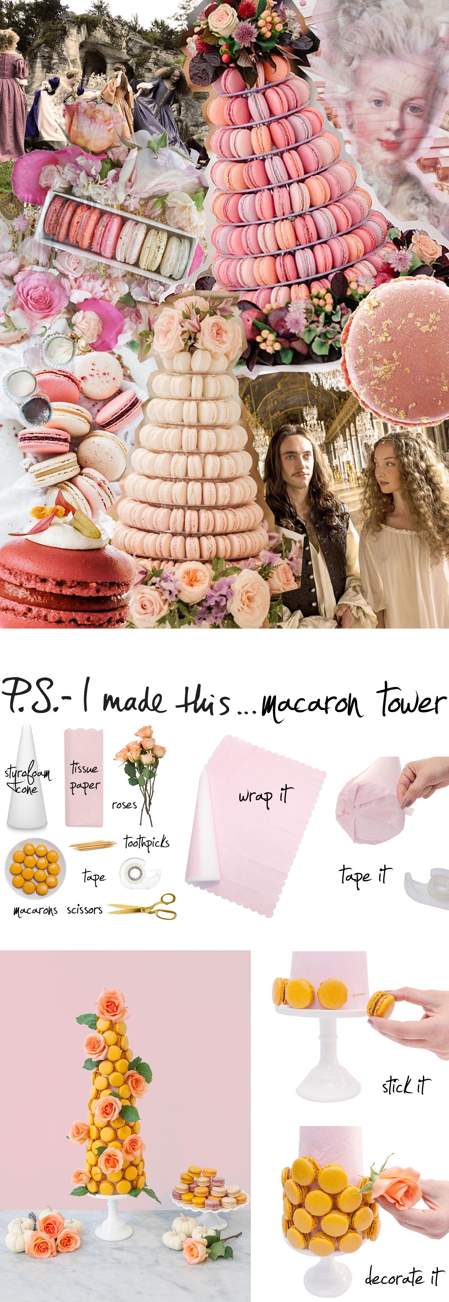 macaron-tower