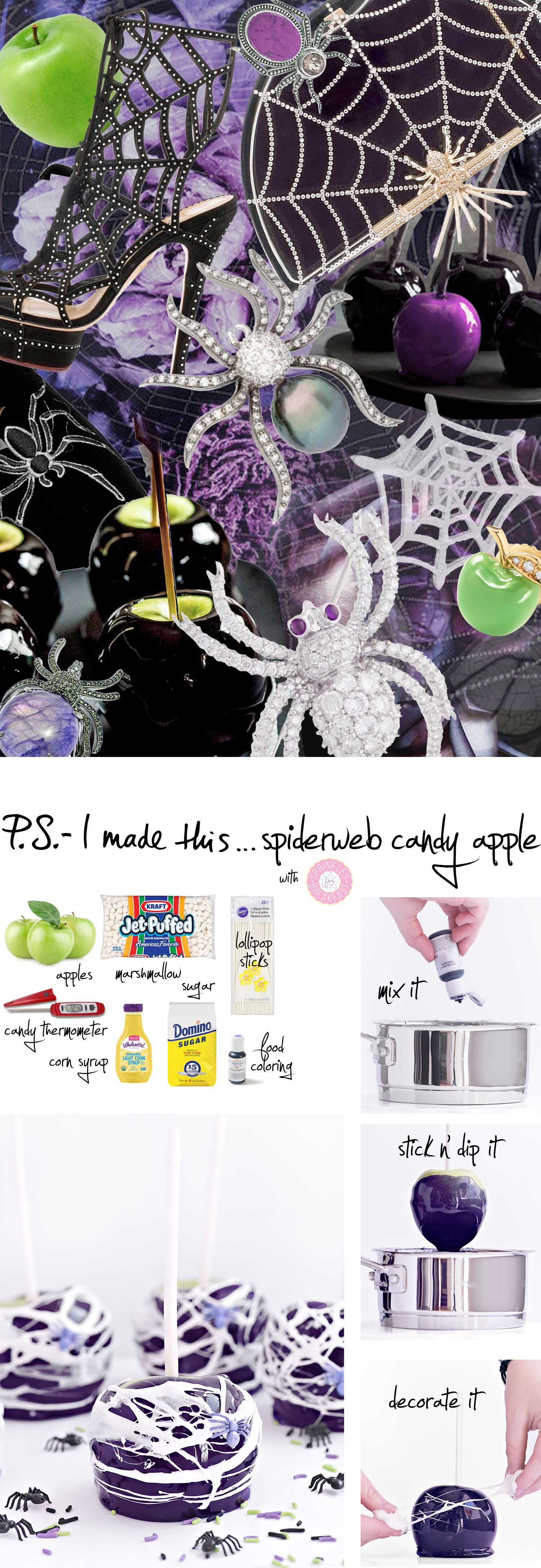 Spiderweb-Candy-Apples